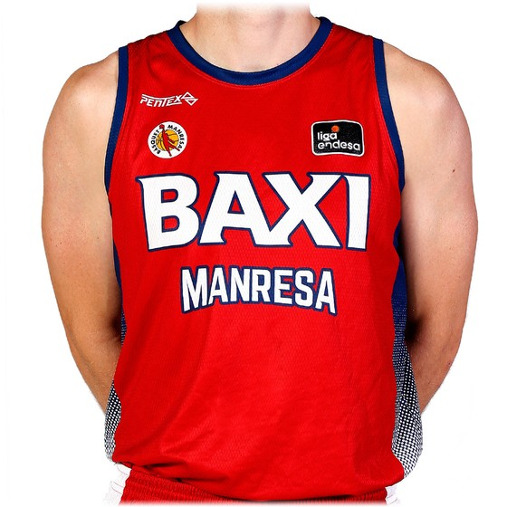 BAXI Manresa local jersey 20-21 Adult Size: S