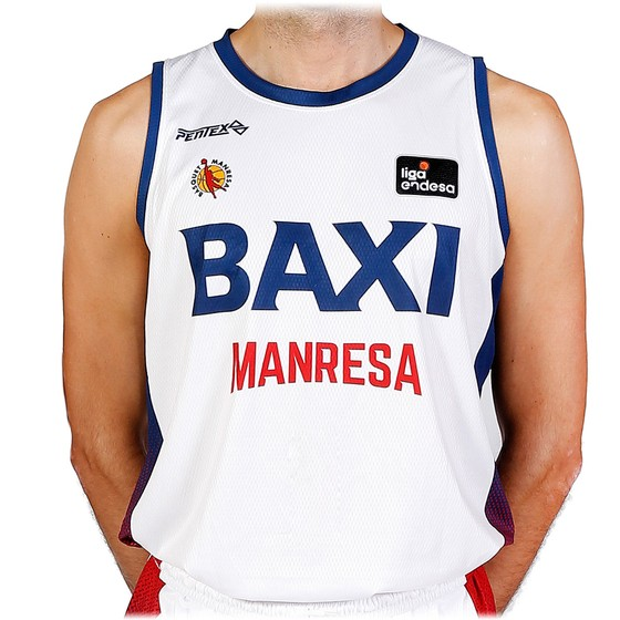 BAXI Manresa away kid jersey 20-21 Kids Size: 0