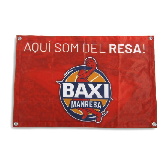 BAXI Manresa flag Unique size: Unique