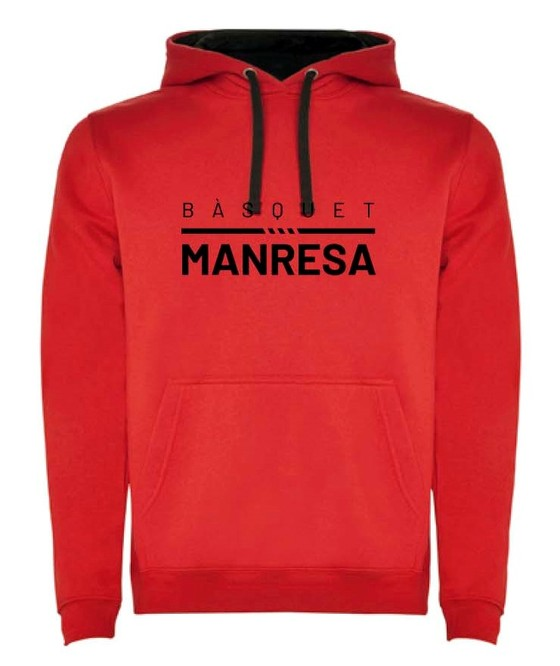 Bàsquet Manresa red kids sweater Kids Size: 6